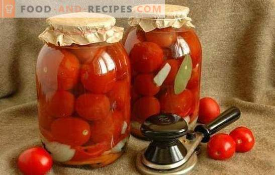 Roșii pentru iarnă fără usturoi - pregătim vitamine pentru viitor! Rețete de roșii pentru iarnă fără usturoi, testate în timp