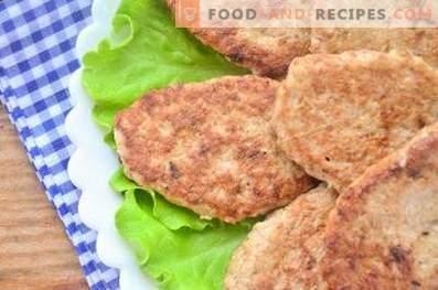 Côtelettes de filet de poulet