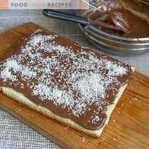 Tort de burete de ciocolată