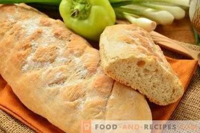 Pâine integrală integrală în cuptor