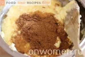 Cupcake de cacao