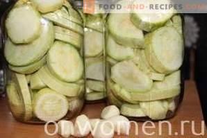 Marinierte Zucchini mit Knoblauch