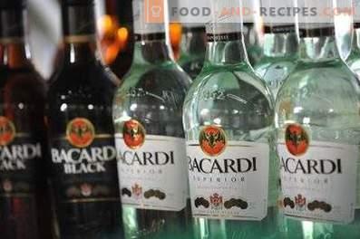 Cum să beți Bacardi rom