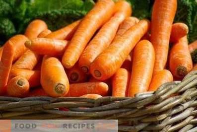Cum se păstrează morcovii