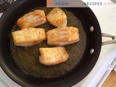 Cum să prăjiți peștele astfel încât să nu se prăbușească