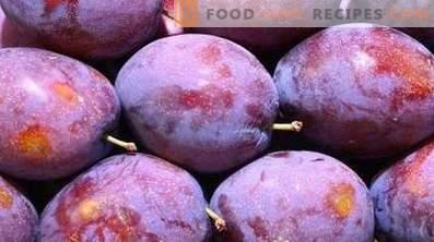 Cum se păstrează prunele