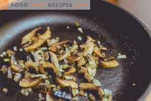 Condimente pentru ciuperci