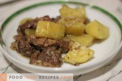 Lam gestoofd met aardappelen