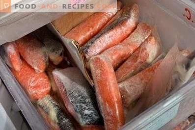 Comment conserver du poisson rouge salé