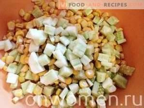 Salată cu cuscus și pui