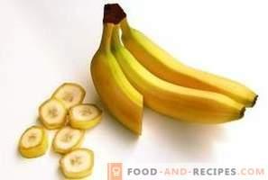 Banane: beneficii și efecte negative asupra organismului
