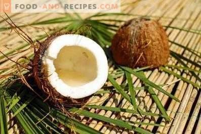 Cum să depozitezi nucă de cocos