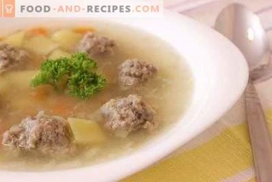 Supa de carne de vită