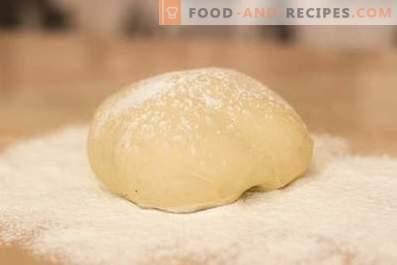 Pizza dough in bread maker