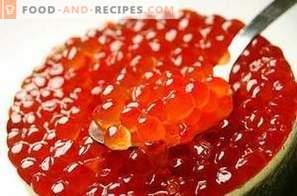 Cum să murăm caviar de somon