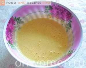 Tort cu grătar cu cremă de ciocolată și chipsuri de cocos