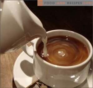 Cafea cu lapte: beneficiu sau rău