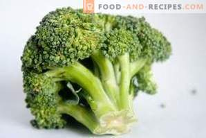Cum se îngheață varza de broccoli