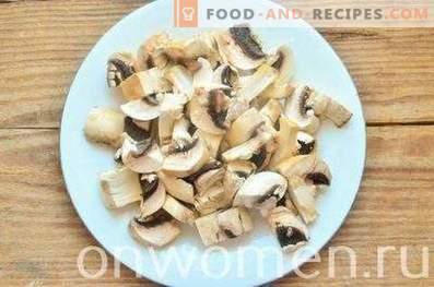 Goulash au poulet et aux champignons