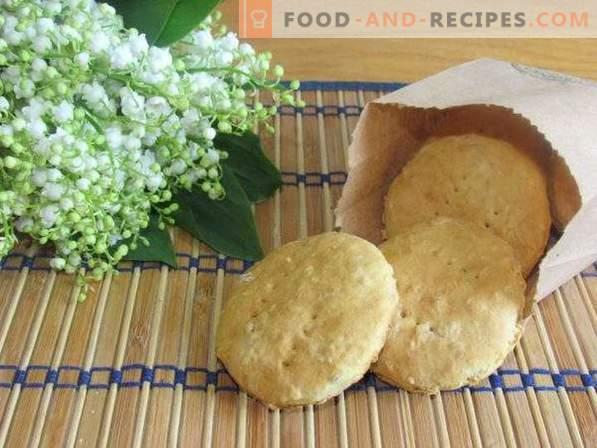 Cookie-urile de ovaz cu chipsuri de nucă de cocos