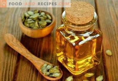 Ulei de semințe de dovleac: proprietăți benefice și contraindicații