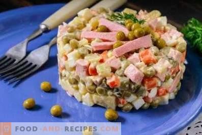 Salate verde de mazăre