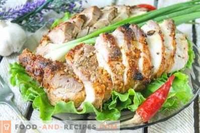 Cum să gătești carne de porc fiartă