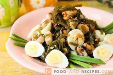 Salate cu șobolan și ou