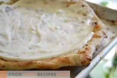 Salsa per pizza bianca