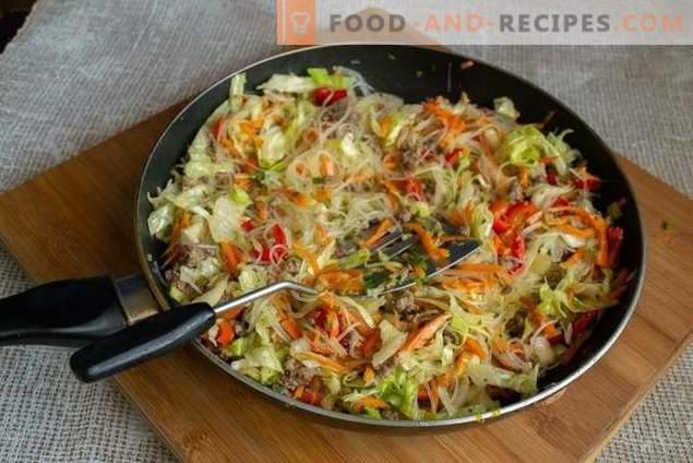 Se amestecă cu carne de vită și legume pentru o cină rapidă.