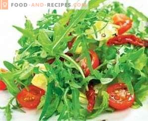Salate cu oțet balsamic