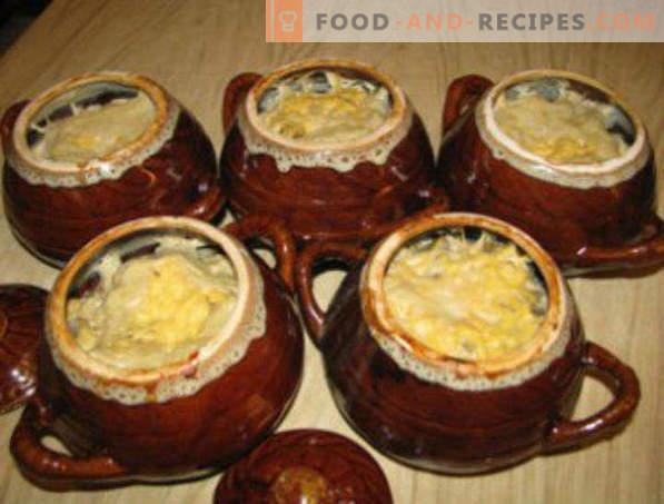 Cum să gătești cartofi în cuptorul cu microunde cu brânză, carne, șuncă, cartofi prăjiți, fierți
