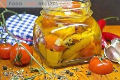 Confirma cu ardei iute cu roșii de cireșe